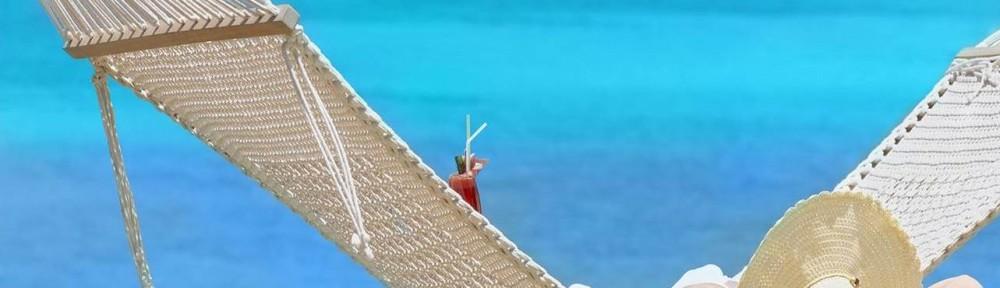 PA Online vervangt PA op vakantie, in hangmat